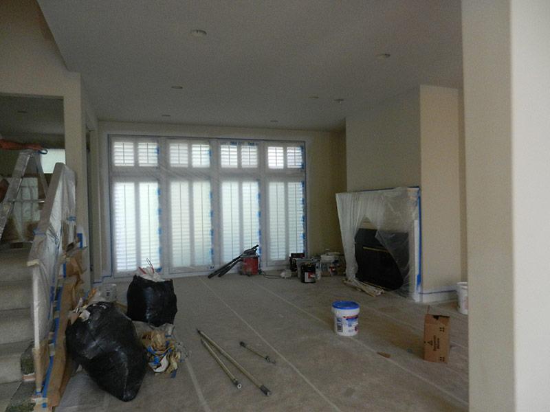 Living Room Remodel in Leawood, KS - Before
