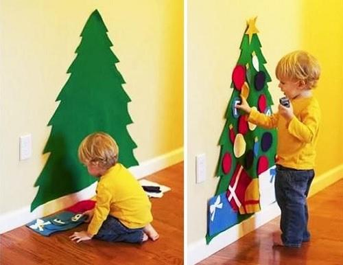 Felt Christmas Tree Design Connection Inc Kansas City Interior Design Blog