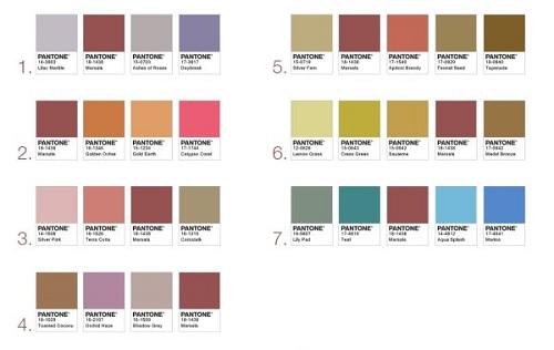 Pantone Marsala Color Pairings Design Connection Inc Kansas City Interior Design Blog