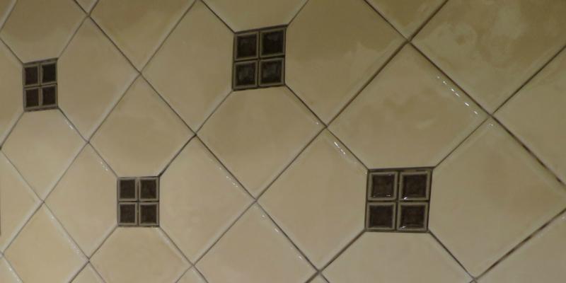 Lower Level Kitchen Backsplash close up 2 Design Connection Inc Kansas City Interior Design