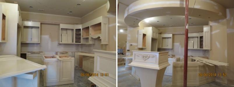 Lower Level Kitchen Before and After Arlene Ladegaard Design Connection Inc Kansas City Interior Design