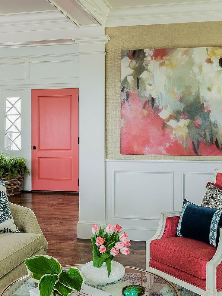 Coral Reef Door Design Connection Inc Kansas City Interior Design