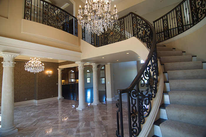 Entry Staircase - After