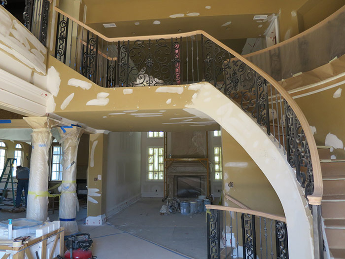 Entry Staircase - Progress
