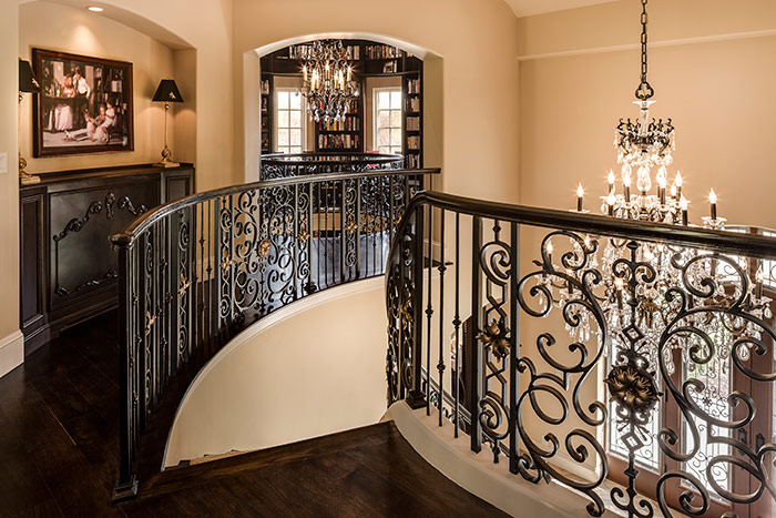 Top of the Staircase in Shoal Creek, MO