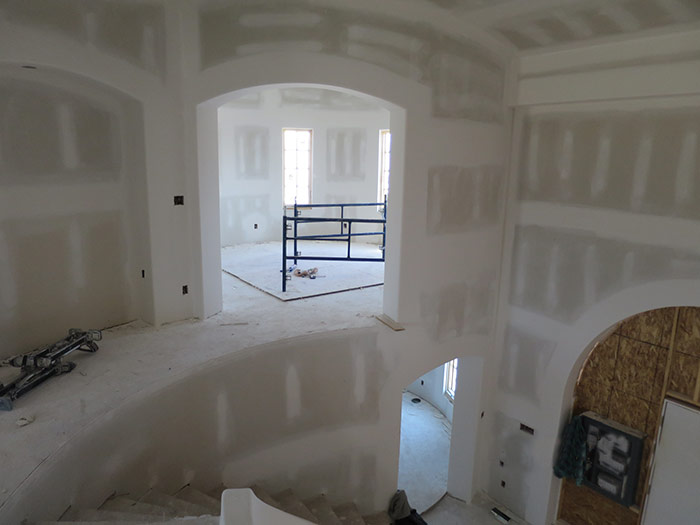 Top of the Staircase - Progress