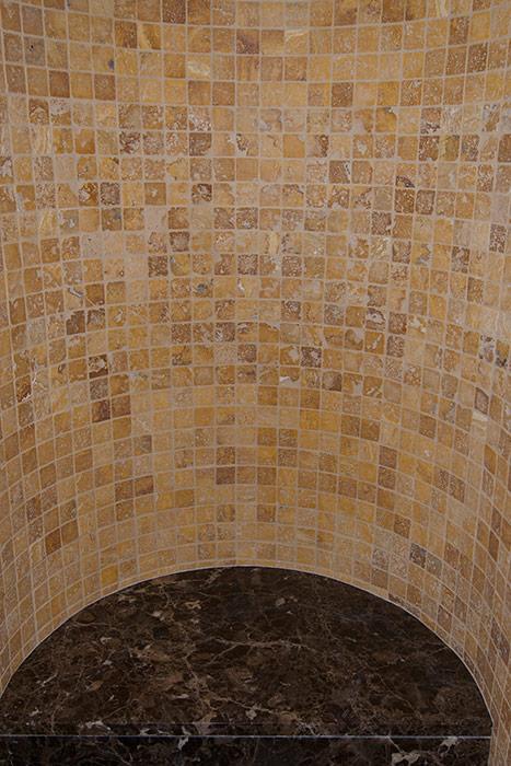 Upper Level Tile Detail - After
