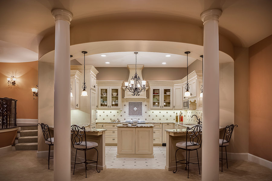 Lower Level Kitchen in Shoal Creek, MO - After