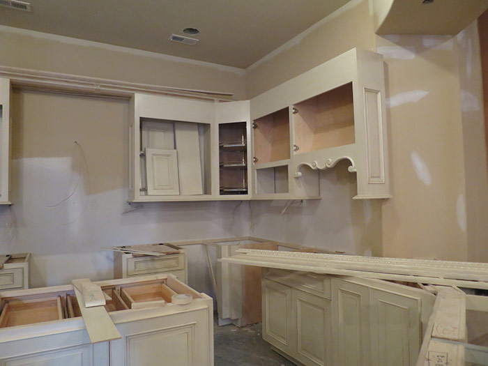 Lower Level Kitchen in Shoal Creek, MO - During