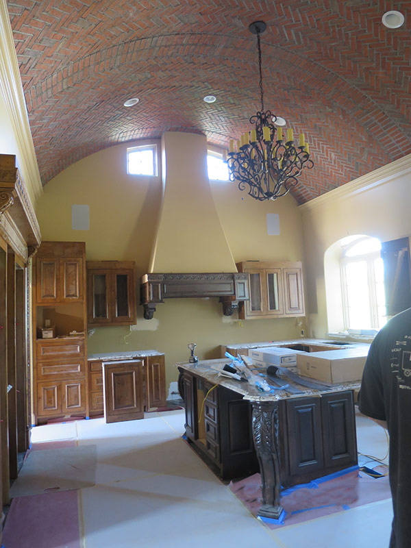 Leawood Kitchen - Progress