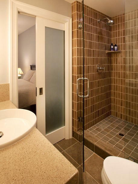 Bathroom Pocket Door Design Connection Inc Kansas City Interior Design