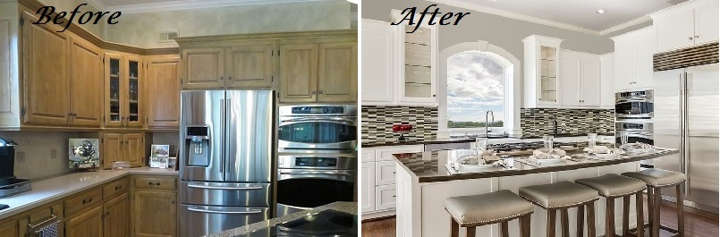 Exceptionnel Design Connection Inc Kitchen Before And After