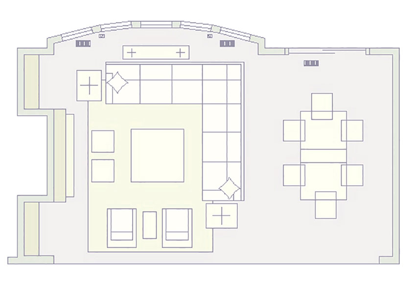Great Room - Floorplan