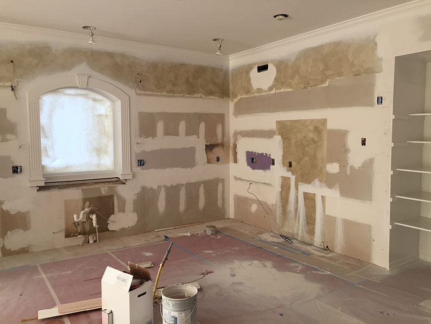 Kitchen Remodel in Leawood, KS - During