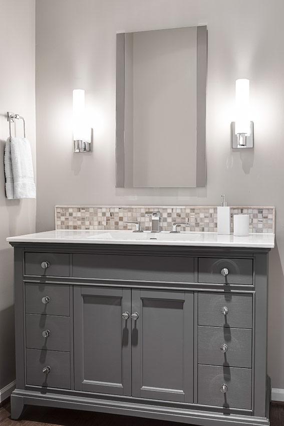 Leawood, KS Bathroom Remodel - Before