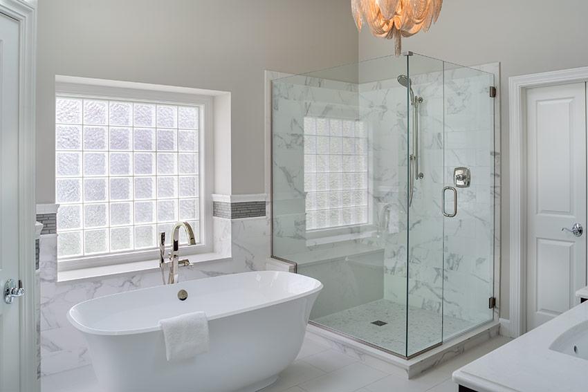 Leawood Master Bathroom Remodel - After