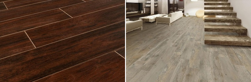 Porcelain Tile Wood Look Kansas City Interior Designer