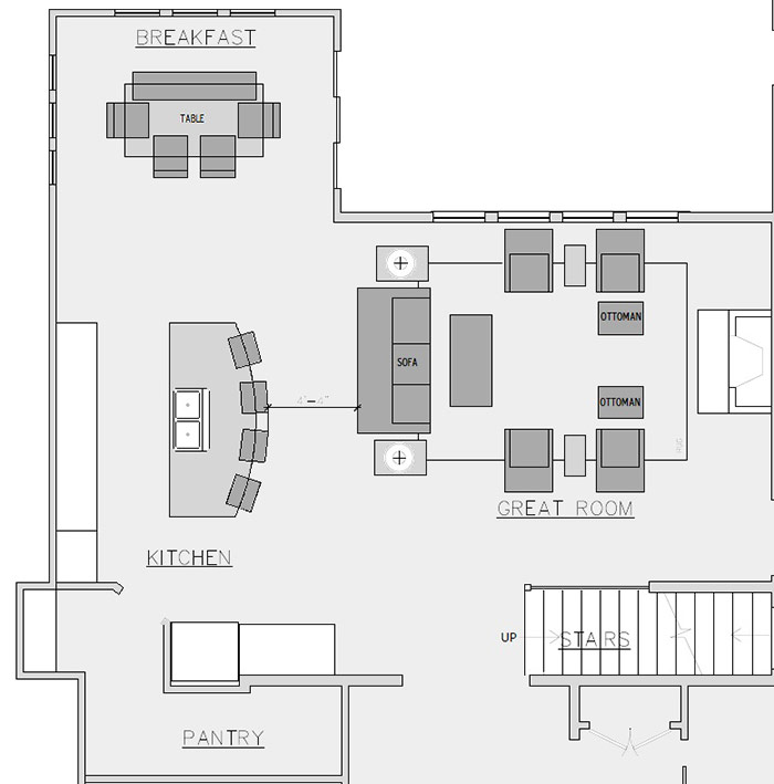 Great Room in Stilwell, KS - Floorplan