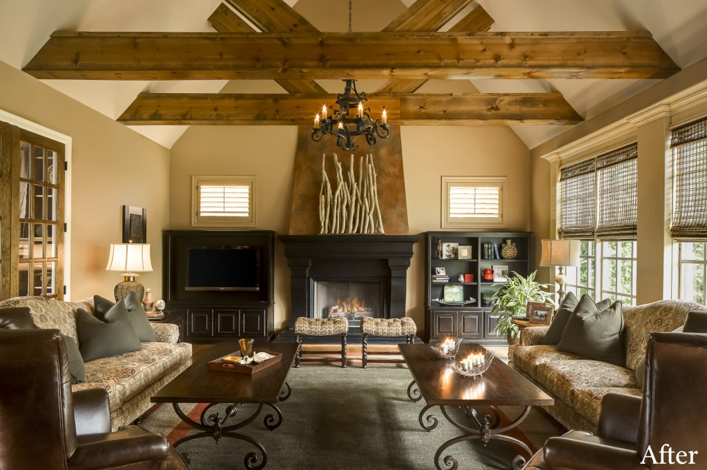 Great Room Gets A Great Makeover: A Design Connection, Inc