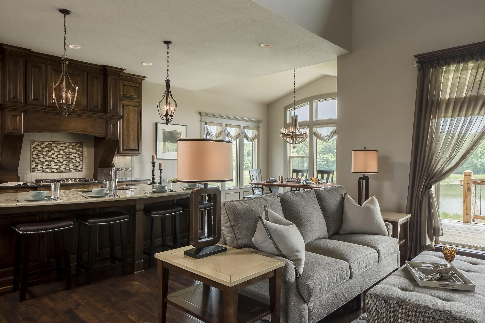 Kitchen Great Room Arlene Ladegaard Design Connection Inc Kansas City Interior Designer