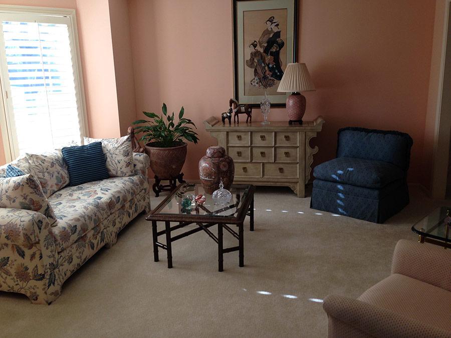 Great Room in Leawood, KS - Before