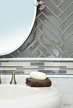 2016 Tile Trends Glass Chevron Kansas City Interior Design Blog