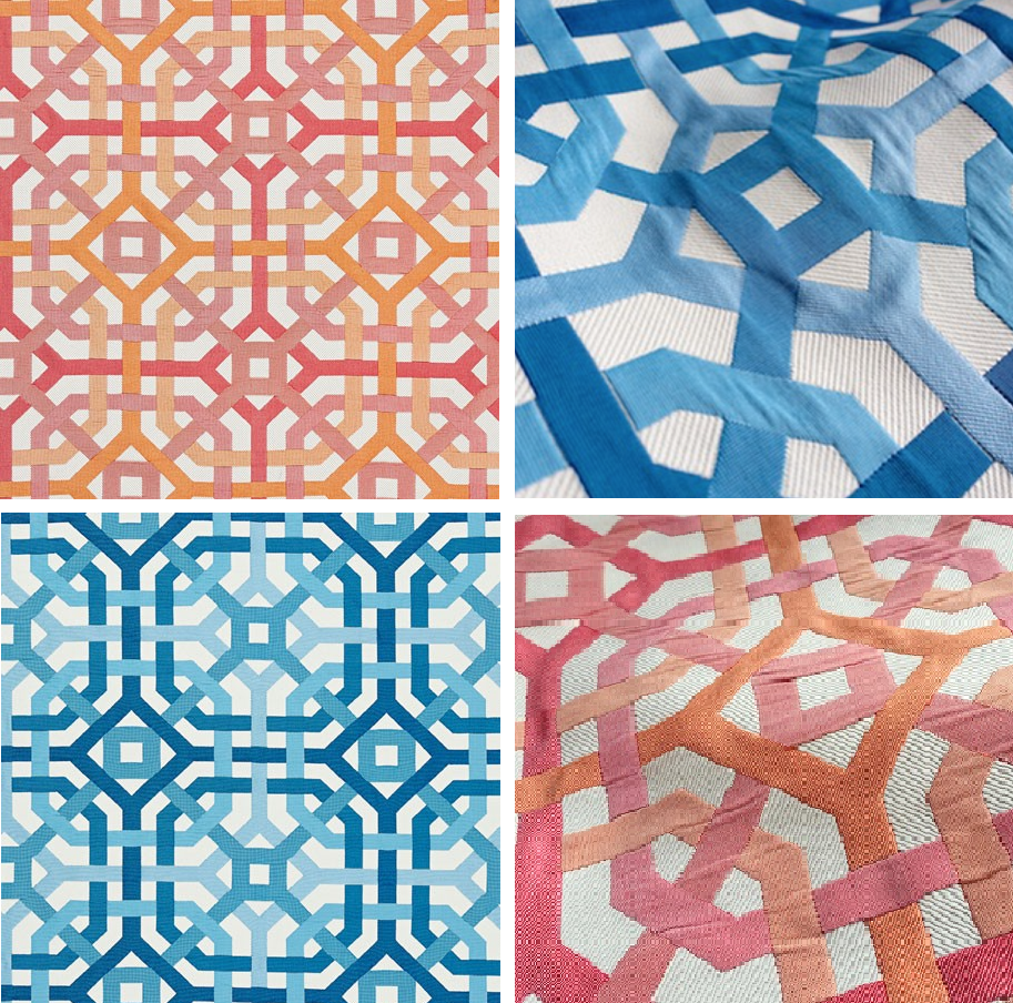 Scalamandre Endless Summer Fabrics Design Connection Inc Interior Designer Blog