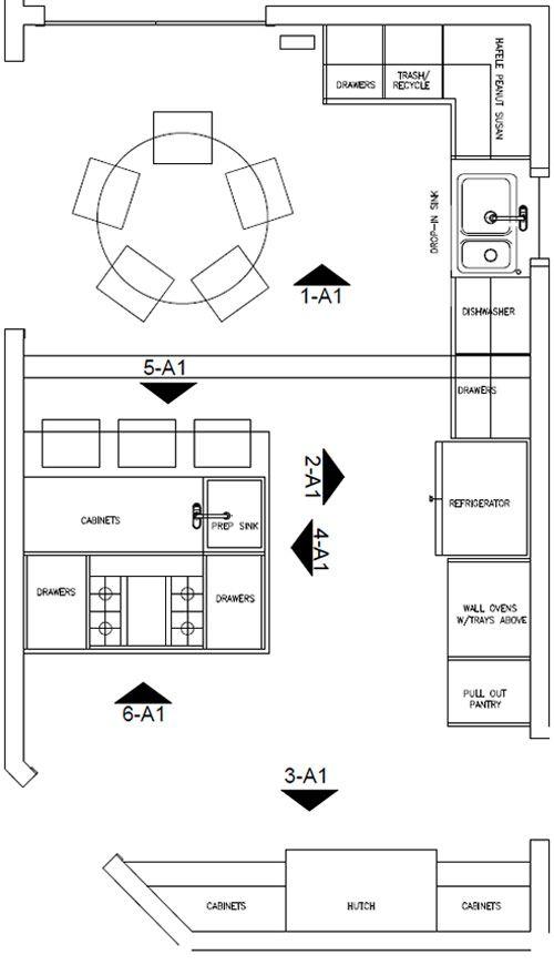 Space Plan Kitchen Remodel Design Connection Inc Kansas City Interior Design