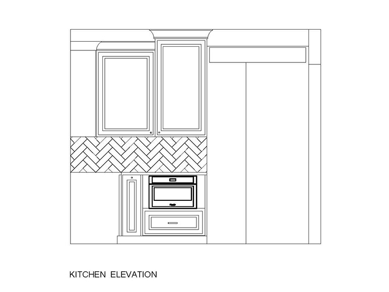 Kitchen Overland Park - Kitchen Elevation
