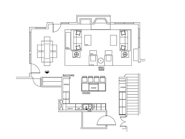 Kitchen Overland Park - Space Plan