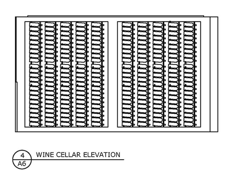 Wine Cellar Elevation