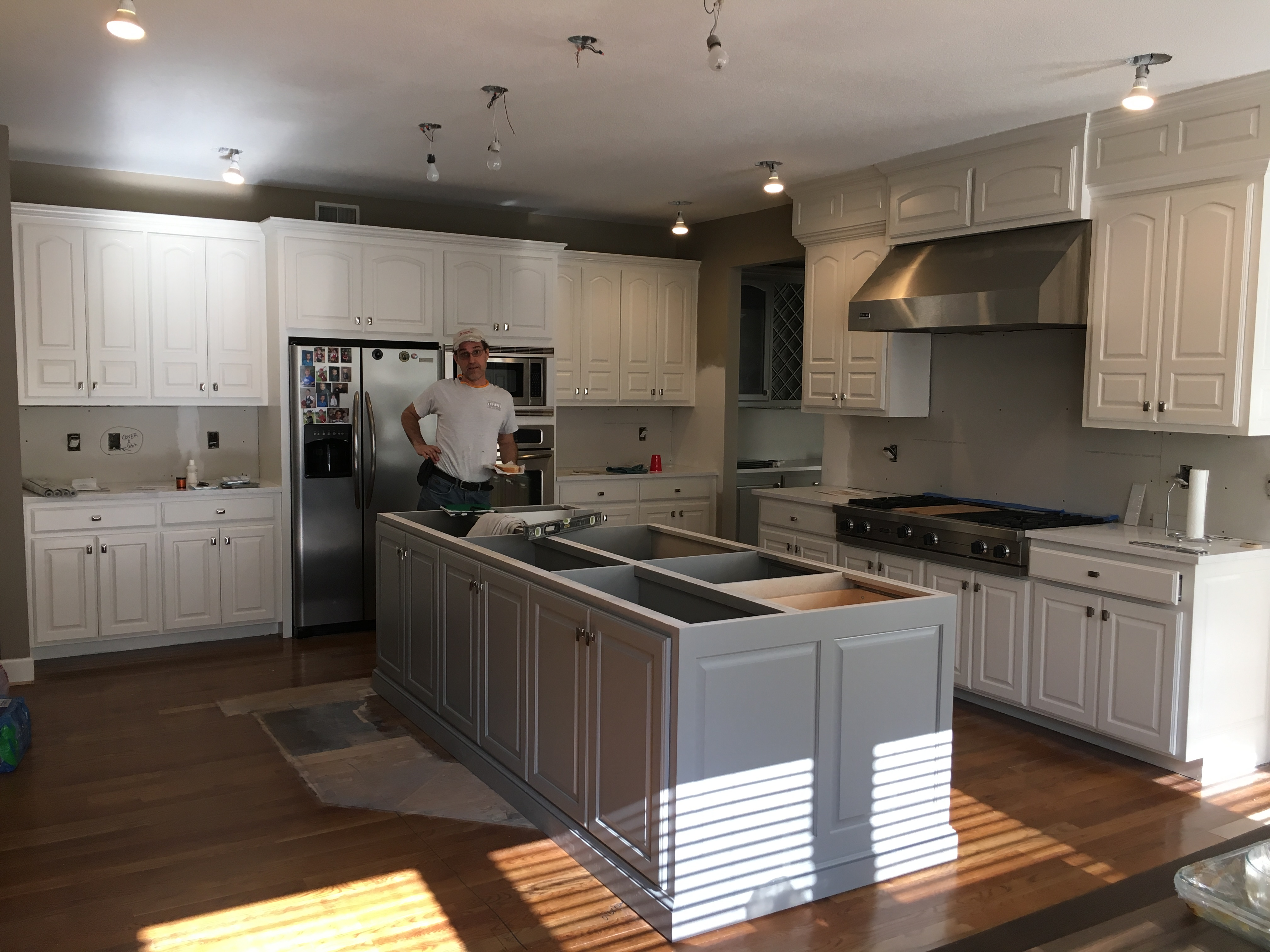 Dated Kitchen Gets Massive Makeover A Design Connection