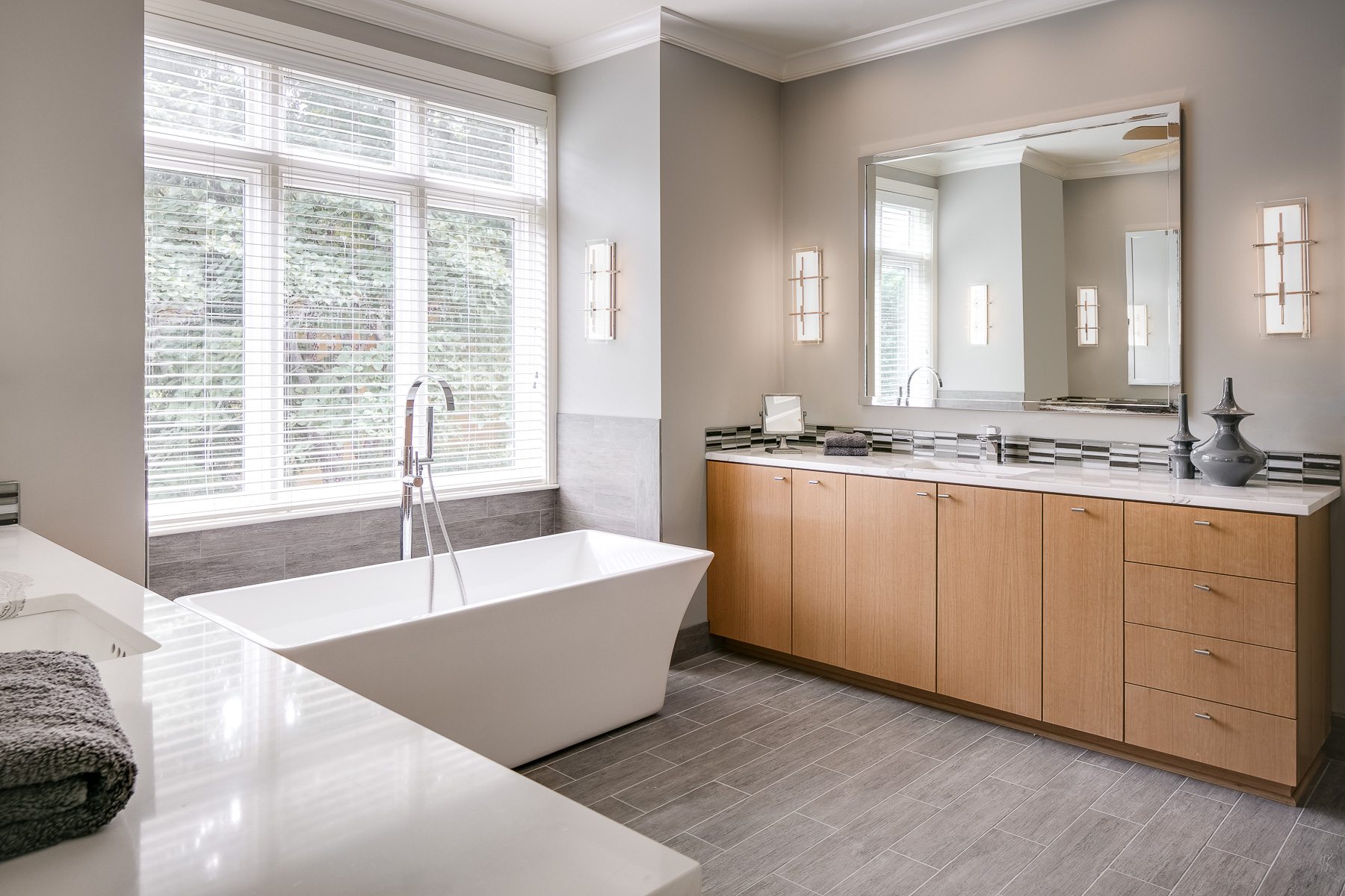 Master Bathroom Bliss: A Design Connection, Inc. Featured Project