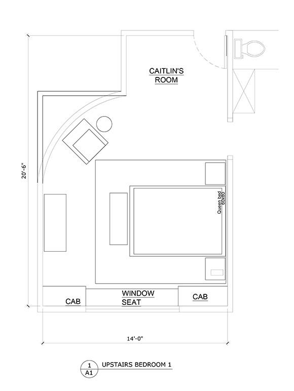 Bedroom Elevation