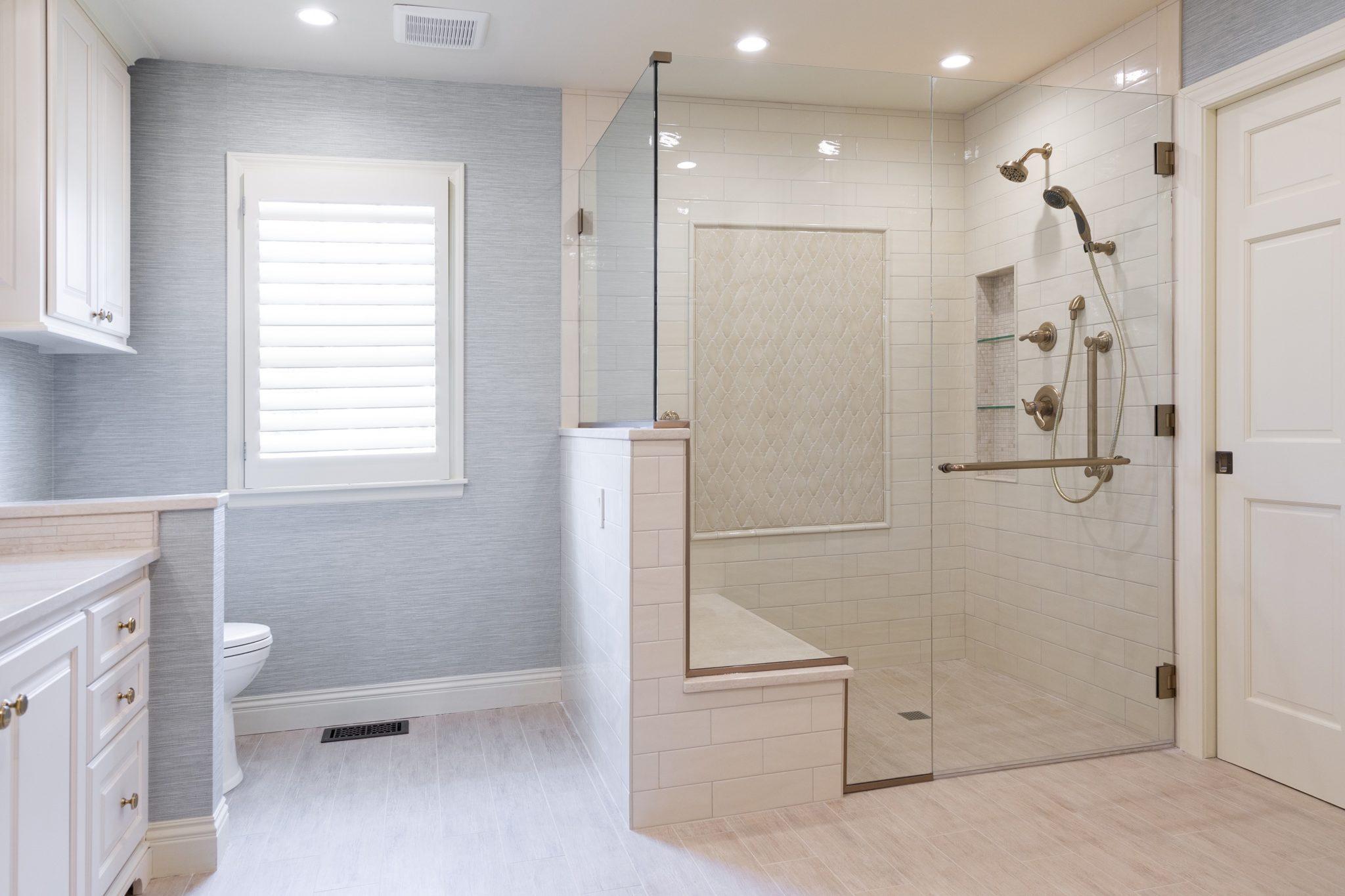 ADA Shower Kansas City Interior Designer