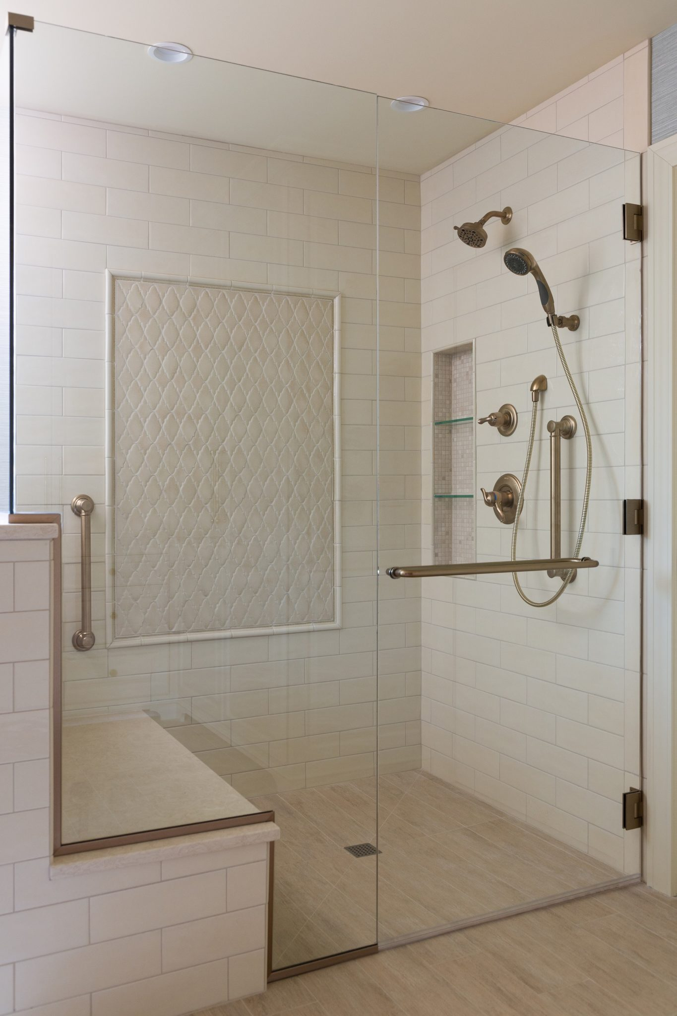 ADA Shower Wheelchair Kansas CIty Interior Designer